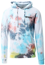 Sixth June White Multicolored Hoodie