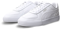 Puma White Caven Trainers