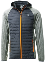 Jack & Jones Grey / Grey Melange Light Quilted Jacket