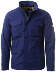 Jack & Jones Blue / Peacoat Stand Collar Field Jacket