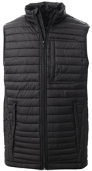 Jack & Jones Black / Black Lightweight Waistcoat