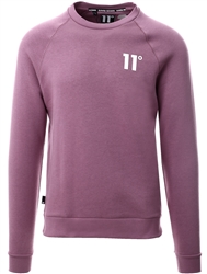 11degrees Berry Mist Core Sweatshirt