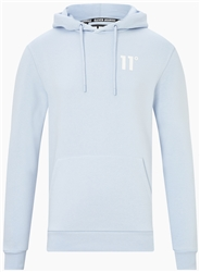 11degrees Powder Blue Core Pullover Hoodie