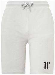 11degrees Vapour Grey Core Sweat Shorts