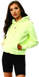 Tommy Jeans Faded Lime Linear Logo Hoody