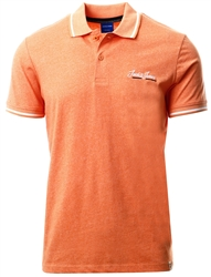 Jack & Jones Pastel / Shell Coral Single Jersey Polo Shirt