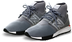 New Balance Silver Filigree With Silver 247 Trainers