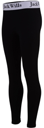 Jack Wills Black Junior Redbrook Leggings