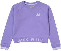 Jack Wills Lavender Junior Crop Sweater
