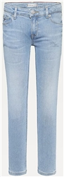Tommy Jeans Summer Blch Blue Str Nora Skinny Faded Jeans