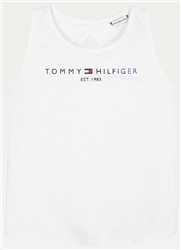 Tommy Jeans White Graphic Tank Top
