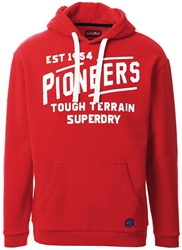 Superdry Chilli Pepper Heritage Mountain Graphic Hoodie