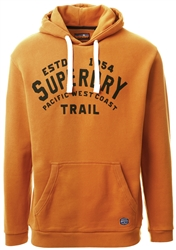 Superdry Spectra Yellow Hertiage Hoody