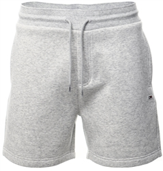Tommy Jeans Silver Grey Htr Organic Cotton Sweat Classic Shorts