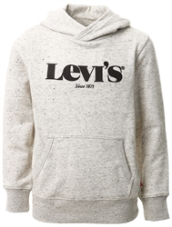 Levi's® Black/White Teenager Washed Down Logo Hoodie
