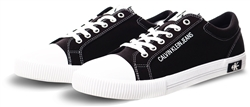 Calvin Klein Black Canvas Trainers