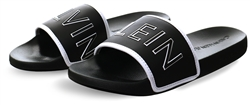 Calvin Klein Black Padded Slides