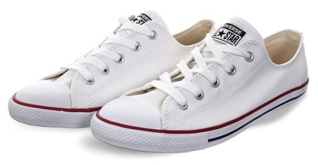 Converse White Chuck Taylor All Star Dainty  - Click to view a larger image