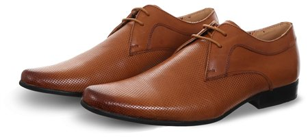 Front Tan Ripley Lace Up Shoe  - Click to view a larger image