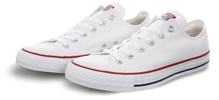 Converse Optical White (Mens) Chuck Taylor All Star Classic  - Click to view a larger image