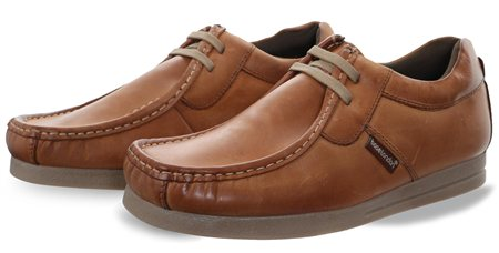 Base London Tan Storm Lace Up Shoe  - Click to view a larger image
