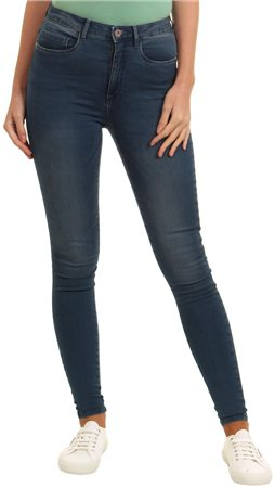 Only Denim+r Royal High Pim Short Leg Jean  - Click to view a larger image