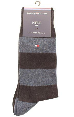 Hilfiger Denim Navy Stripe Sock  - Click to view a larger image