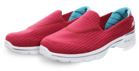 Skechers Red Trainer  - Click to view a larger image