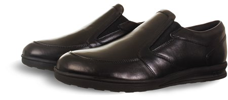 Kickers Black Shoe  - Click to view a larger image