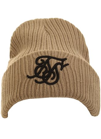 Siksilk Stone Knit Beanie Hat  - Click to view a larger image