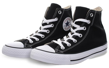 Converse Black (Womens) Chuck Taylor All Star Classic  - Click to view a larger image