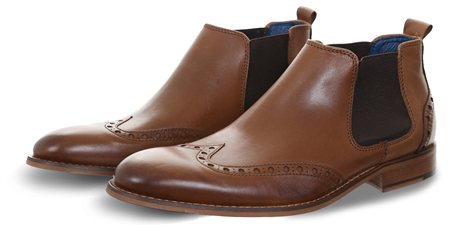 Coxx Borba Brown Dublin Chelsea Boot  - Click to view a larger image