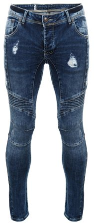 Enzo Blue Skinny Jean  - Click to view a larger image