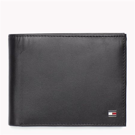 Tommy Jeans Black Eton Wallet  - Click to view a larger image
