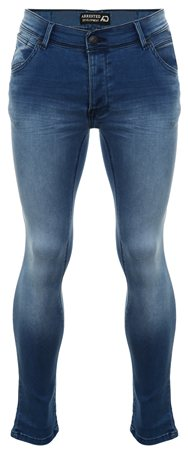 Dv8 Blue Denim Scott Skinny Jeans  - Click to view a larger image