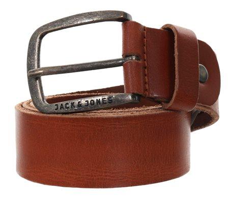 Jack & Jones Tan Jj Paul Leather Belt  - Click to view a larger image