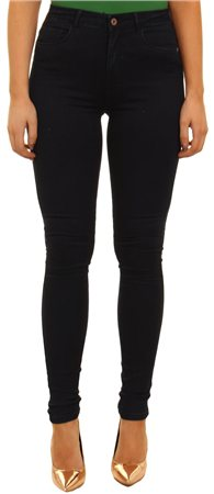Only Navy+r Royal High Waist Skinny Jean  - Click to view a larger image