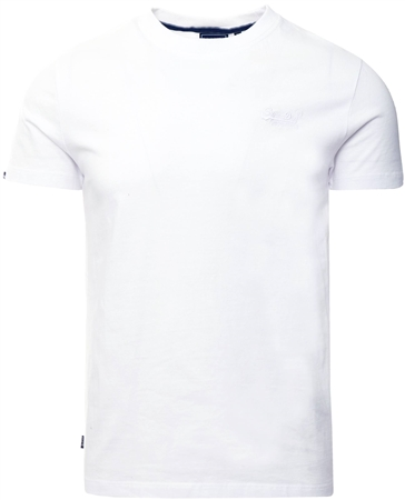 Superdry Optic Orange Label Vintage Embroidery T-Shirt  - Click to view a larger image