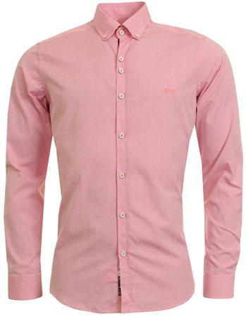 Dario Beltran Pink Shirt  - Click to view a larger image