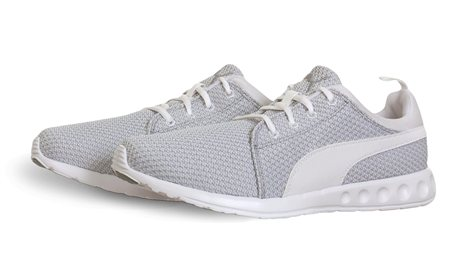 Puma White Trainer  - Click to view a larger image