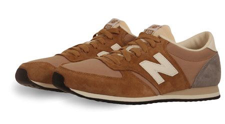 New Balance Taupe Trainer  - Click to view a larger image