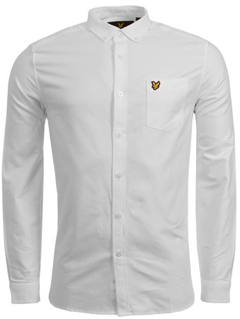 Lyle & Scott White Shirt  - Click to view a larger image