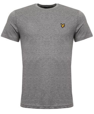 Lyle & Scott Grey Marl Tee  - Click to view a larger image