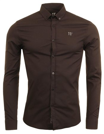 11degrees Black Long Sleeve Shirt  - Click to view a larger image