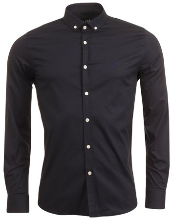 Alex & Turner Navy Long Sleeve Shirt  - Click to view a larger image