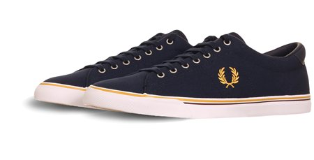 Fred Perry Navy Carbon Shoe  - Click to view a larger image
