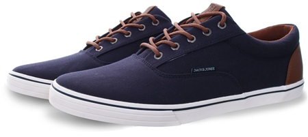 Jack & Jones Navy Vision Mixed Shoe  - Click to view a larger image