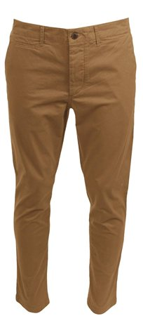 Jack & Jones Tan Marco Jenzo Chinos  - Click to view a larger image