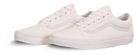 Vans True White Old Skool Shoes  - Click to view a larger image