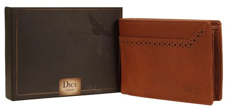 Dice Tan Wallet  - Click to view a larger image